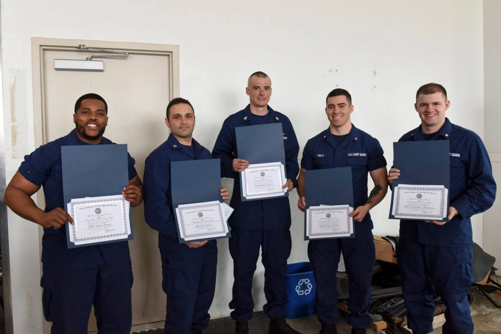 2018 Bayonne US Coast Guard EPOY recipients