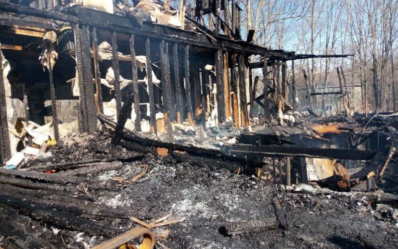 CDR Estevez house fire
