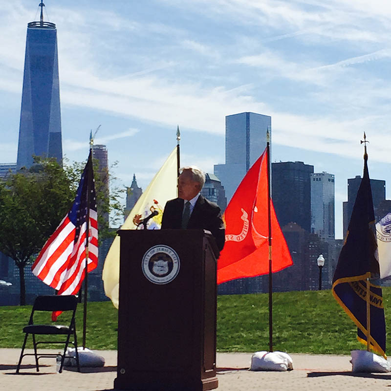 SECNAV Mabus Announcing the to-be USS New Jersey